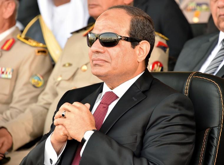 EGYPT-MILITARY-SISI