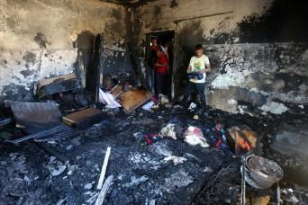 A cselekmény helyszíne.   (AFP PHOTO / Dzsafar Astiyeh)