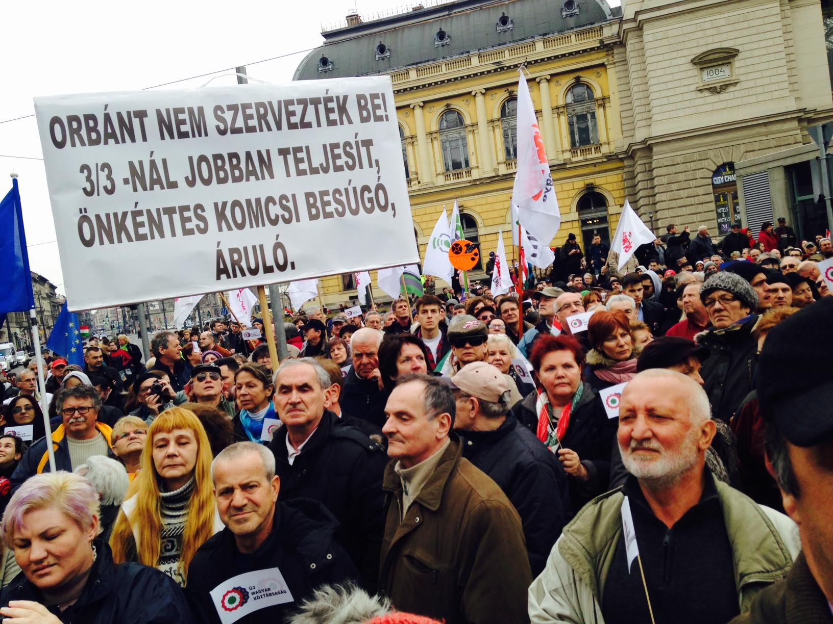 Tüntetés: Reszkess, Orbán, Indul Az Ellenzéki Tüntetés!