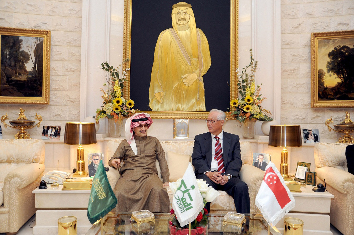 Prince-Alwaleed-Emeritus-Senior-Minister-of-Singapore-at-HRH's-Palace-Jan-2012-E2