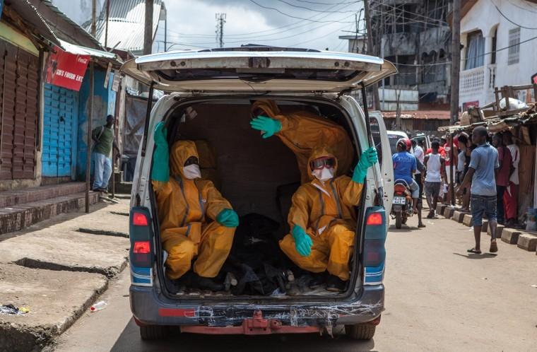 Sierra Leone fővárosa, Freetown. AFP PHOTO/FLORIAN PLAUCHEUR