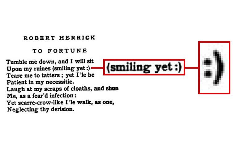 Robert Herrick smiley