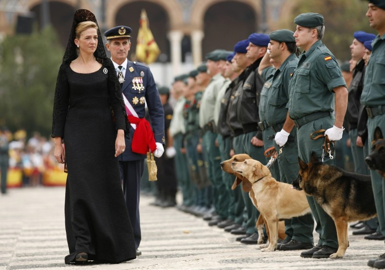 Krisztina hercegnő (Fotó: Reuters / Marcelo del Pozo)