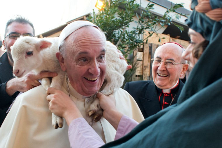 ITALY-VATICAN-POPE-VISIT-EPIPHANY