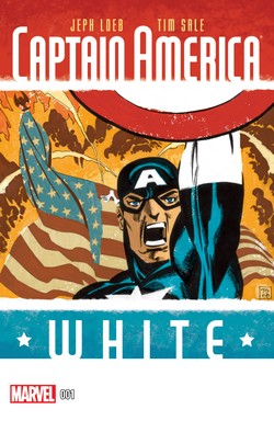 Captain America - White 001-000