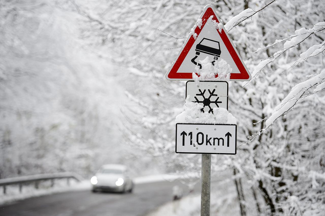 Így mutat a Kékestetőn az idei első hó fbb0a3676a